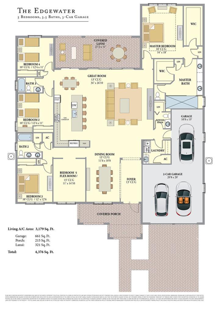 Edgewater Floorplan
