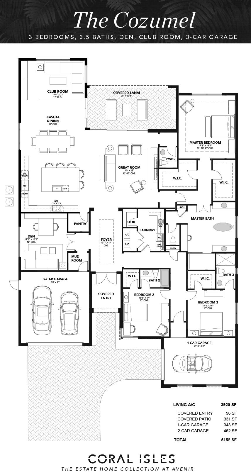 Cozumel Floorplan